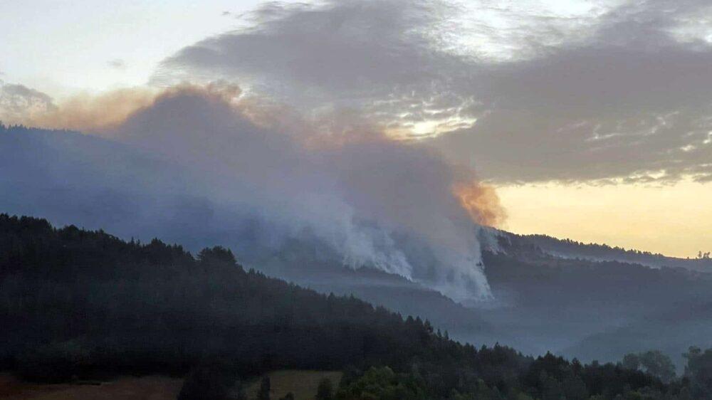 MUP: Zapadna strana požara kod Nove Varoši pod kontrolom 1