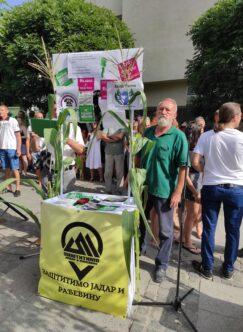 Građani u Loznici protestovali protiv Rio Tinta (FOTO) 3