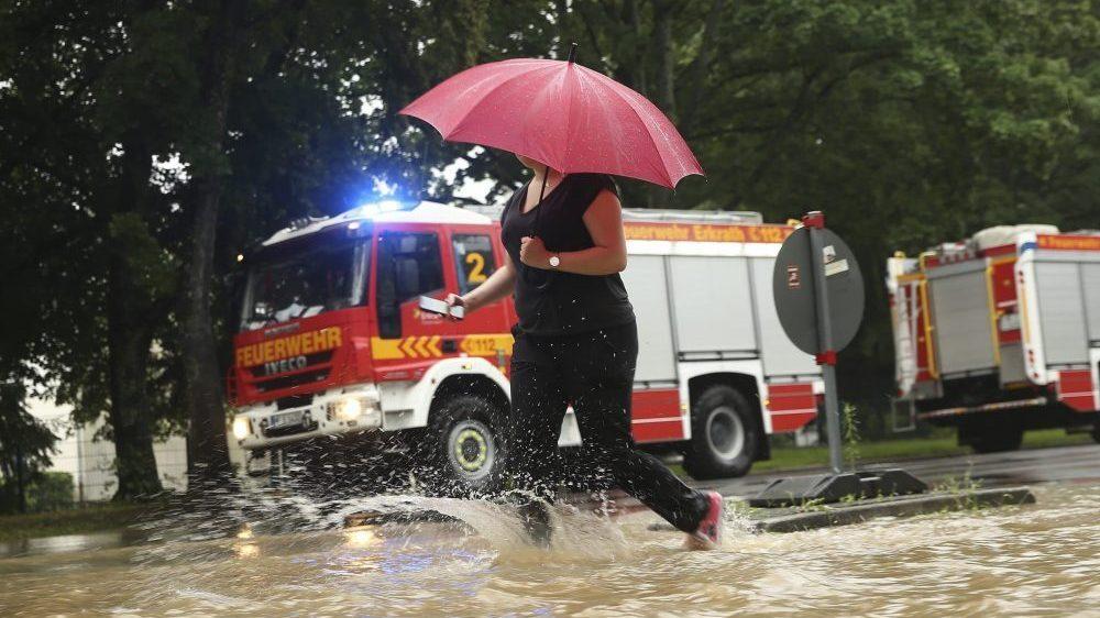 Poplave u delovima zapadne i centralne Evrope posle jake kiše 1