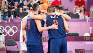 Basketaši Srbije u borbi za treće mesto na OI 14