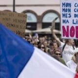 Protesti širom Francuske zbog kovid propusnica i obavezne vakcinacije zdravstvenih radnika 10