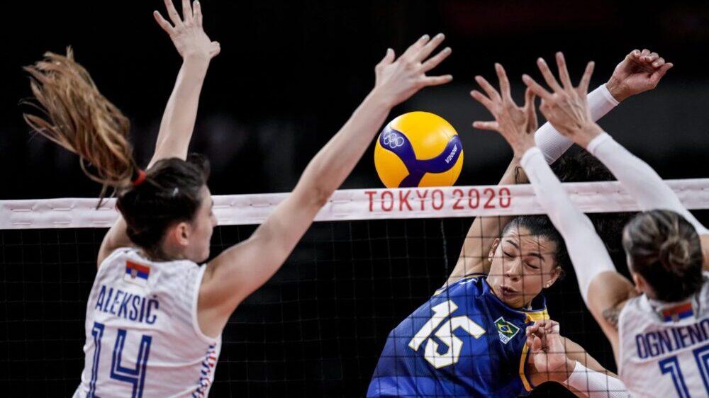 Poraz odbojkašica Srbije od Brazila na Olimpijskim igrama 1
