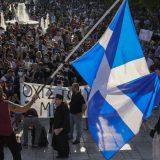 Demonstracije u Grčkoj protiv vakcinacije omladine 6