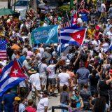 Demonstranti u Majamiju, koji podržavaju proteste na Kubi, blokirali glavni put 9