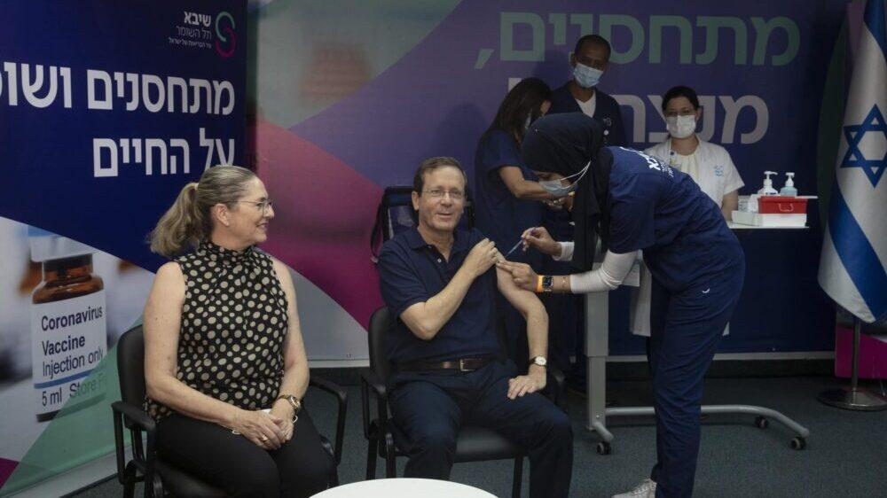 Predsednik Izraela primio treću dozu vakcine 1