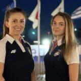Andrea Arsović i Sanja Vukašinović otvaraju drugi takmičarski dan za Tim Srbije 13