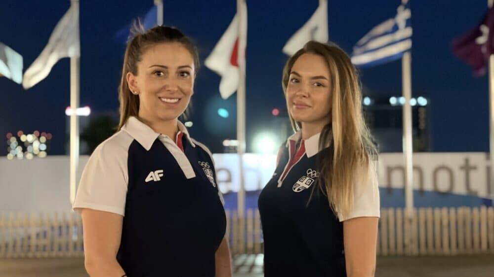 Andrea Arsović i Sanja Vukašinović otvaraju drugi takmičarski dan za Tim Srbije 1