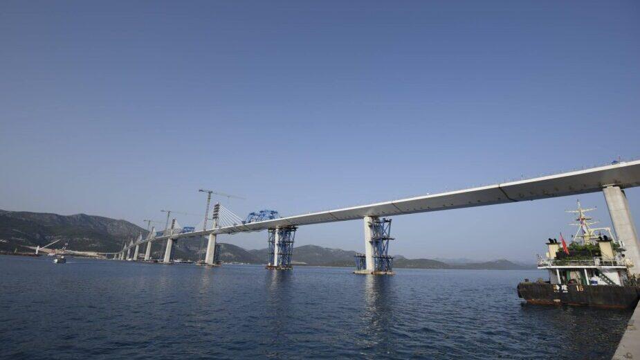 Spojen Pelješki most, Plenković kaže da je Hrvatska spojena (FOTO/VIDEO) 2
