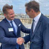 Potpredsednik Skupštine Stefan Krkobabić razgovarao u Parizu sa članovima parlamenta Francuske 1