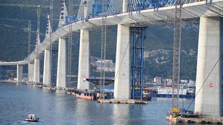 Spojen Pelješki most, Plenković kaže da je Hrvatska spojena (FOTO/VIDEO) 3