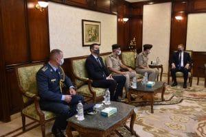 Ministar odbrane Srbije završio trodnevnu posetu Egiptu 13