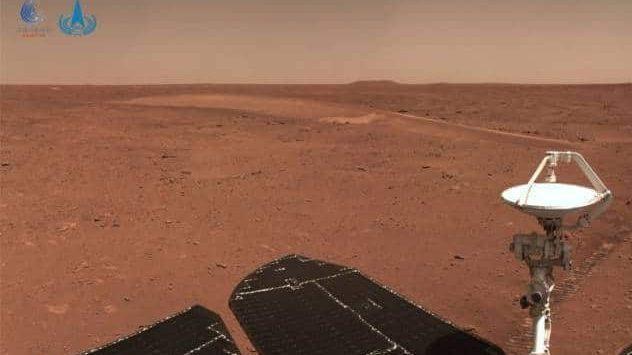 Kineski rover Džužung provozao se 410 metara po Marsu 1