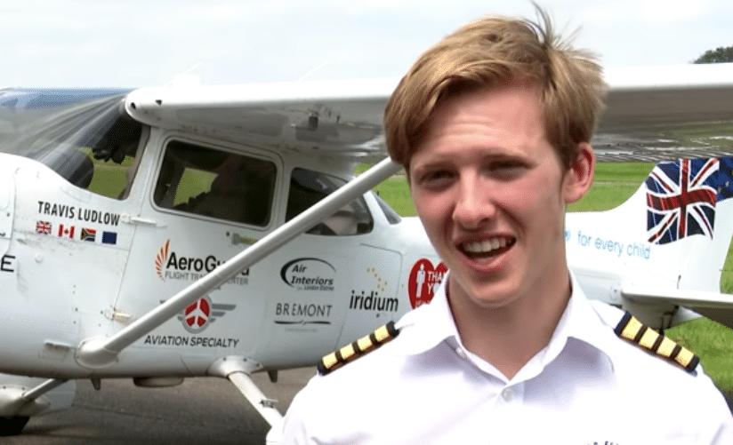 Tinejdžer iz Engleske obleteo svet u avionu jednomotorcu 1