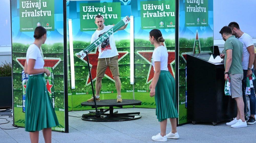 Kako je izgledalo gledanje Heineken finala UEFA EURO 2020 u Beogradu (FOTO) 1