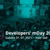 Developers' mDay 2021. u Novom Sadu od 31. jula 8
