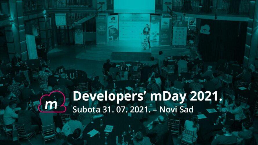 Developers' mDay 2021. u Novom Sadu od 31. jula 1