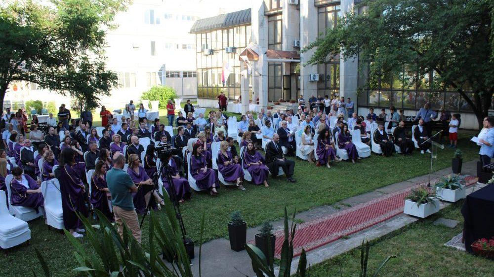 Na Univerzitetu u Kragujevcu promovisana 82 doktora nauka 1