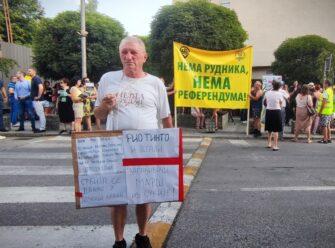 Građani u Loznici protestovali protiv Rio Tinta (FOTO) 9