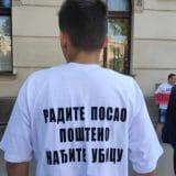 """Protest ispred niškog tužilaštva jer je """"pritvoren pogrešan mladić"""" zbog tuče sa smrtnim ishodom 3"""