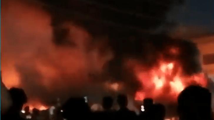 Broj stradalih u požaru u bolnici u Iraku porastao na 92 1