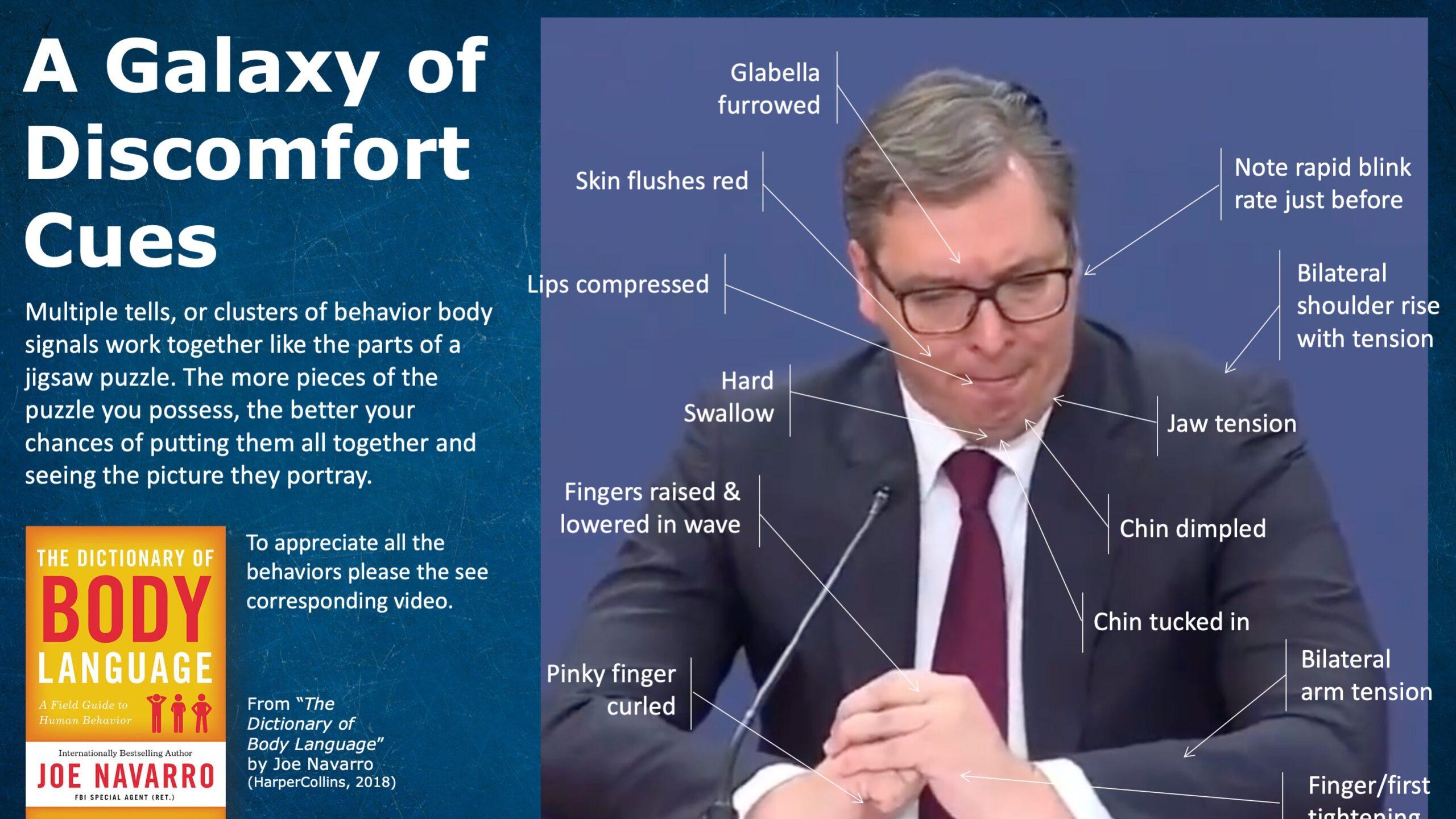 Džo Navaro za Danas: Nisam znao ko je Vučić kad sam analizirao snimak 1