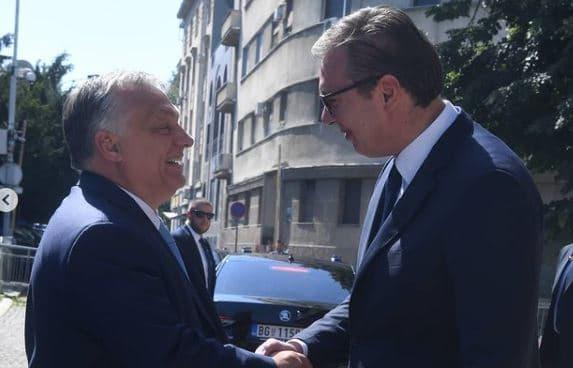 Orban kod Vučića: Ako EU ne primi Srbiju - raspašće se 1