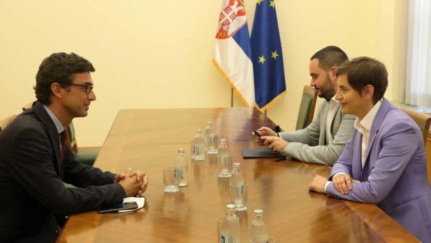Predstavnik MMF u Srbiji u oproštajnoj poseti premijerki 1