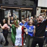 Erupcija slavlja u Italiji posle osvajanja titule šampiona Evrope 13