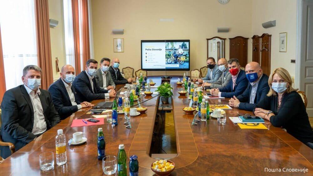 Pošte Slovenije i Srbije razvijaju saradnju u oblasti digitalizacije 1
