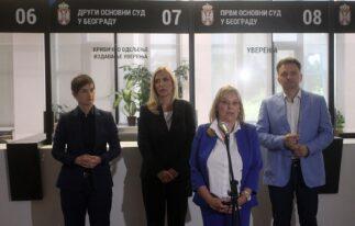 Predstavljena usluga eUverenje, Brnabić istakla značaj usluge jer unapređuje efikasnost sudstva 10