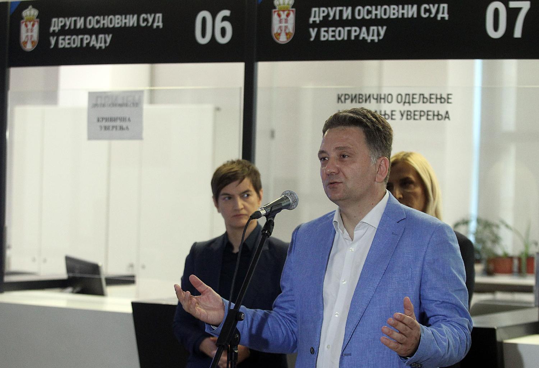 Predstavljena usluga eUverenje, Brnabić istakla značaj usluge jer unapređuje efikasnost sudstva 2