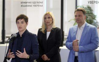 Predstavljena usluga eUverenje, Brnabić istakla značaj usluge jer unapređuje efikasnost sudstva 3