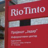Rio Tinto opredelio 2,4 milijarde dolara za realizaciju projekta Jadar 10