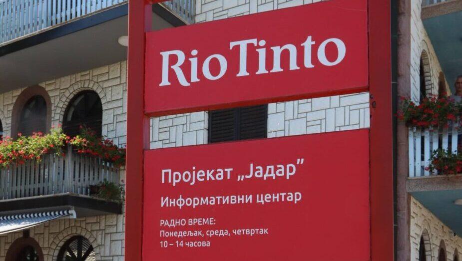Rio Tinto: Razumemo zabrinutost, pozivamo građane da se informišu o činjenicama 1