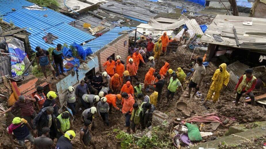 U Indiji 124 osobe stradale u klizištima 1