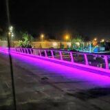 Tvrđavski most osvetljen kao Zadruga, a na njemu još radovi 5
