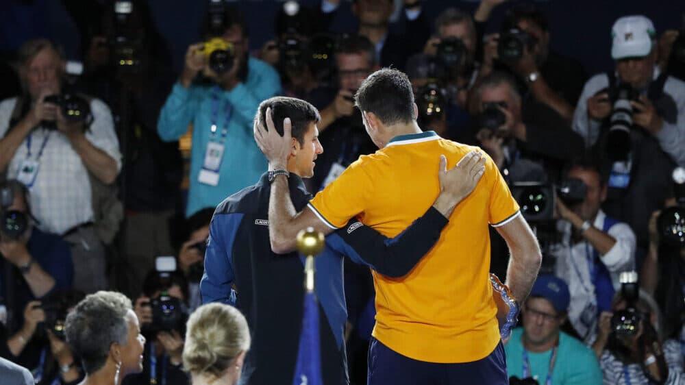 Novak odgovorio Del Potru: Isprašiš me svaki put na Olimpijskim igrama 1