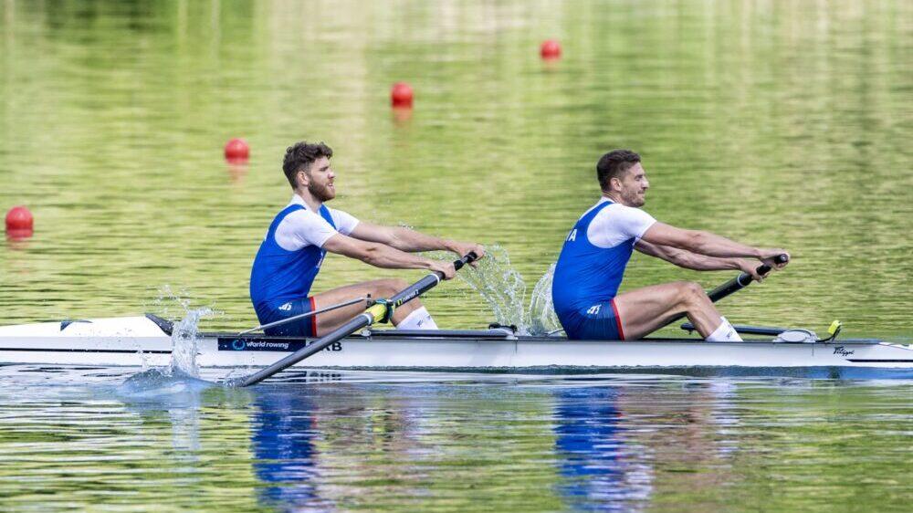 Veslači Vasić i Mačković u finalu Olimpijskih igara, cilj im je medalja 1