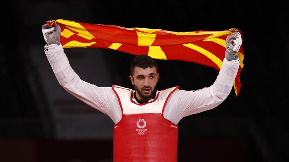 Georgievski osvojio srebro u tekvondou, prva medalja za Severnu Makedoniju u Tokiju 1