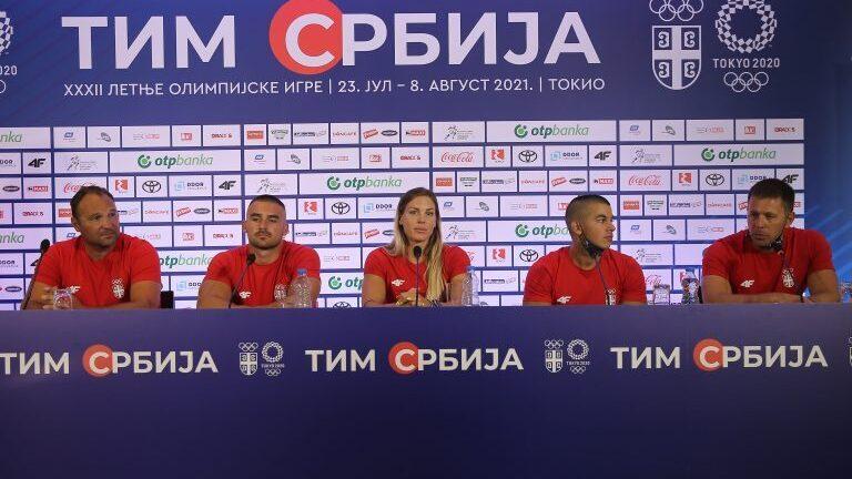 Srpski kajakaši otputovali na Olimpijske igre 1