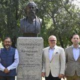 Indijski pesnik Rabindranat Tagor dobio spomenik u parku Ušće 1