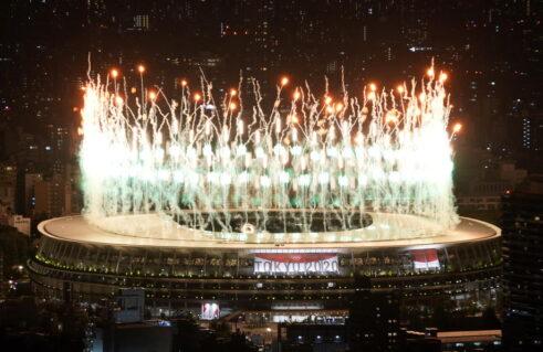 Olimpijske igre u Tokiju zvanično otvorene, Osaka upalila Olimpijski plamen 21