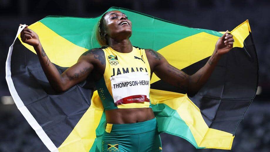 Ilejn Tompson postavila novi olimpijski rekord u trci na 100 metara 1
