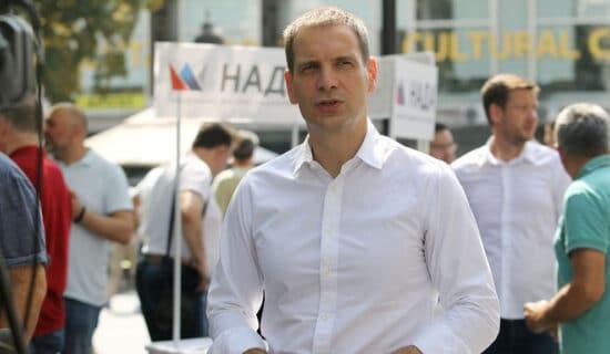 Miloš Jovanović: Prirodno je početi kampanju sedam meseci pre izbora 12