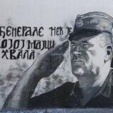 Mural Ratku Mladiću i dalje u Njegoševoj, nadležni ćute 3