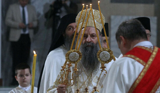 Patrijarh Porfirije služio prvu liturgiju u obnovljenom manastiru Miloševac kod Prijedora 13