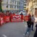 Skup podrške suspendovanom sindikalcu ispred užičke policije 2