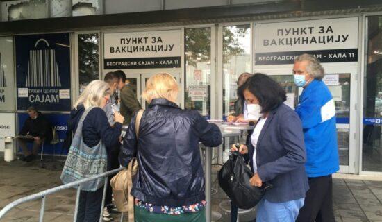 Radojičić: Beograd se bliži brojci od 60 odsto vakcinisanih 13