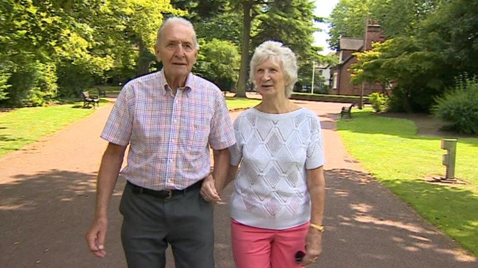 Hugh Porter and Anita Lonsbrough