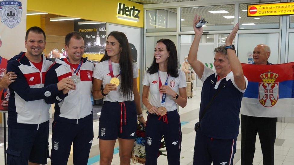 srpski olimpijci